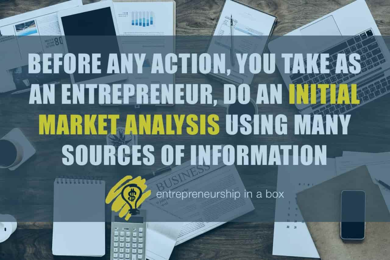 initial market analysis business